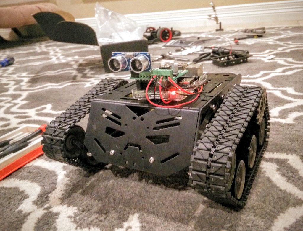dfrobot-devastator-tank-treaded-tracked-robot-with-raspberry-pi-and-rangefinder