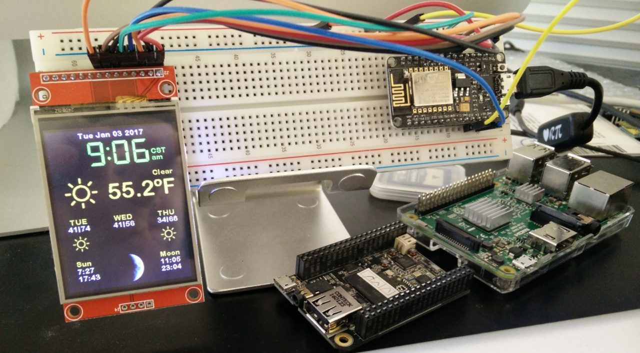 Picture of Squix ESP8266 Color Weather Station