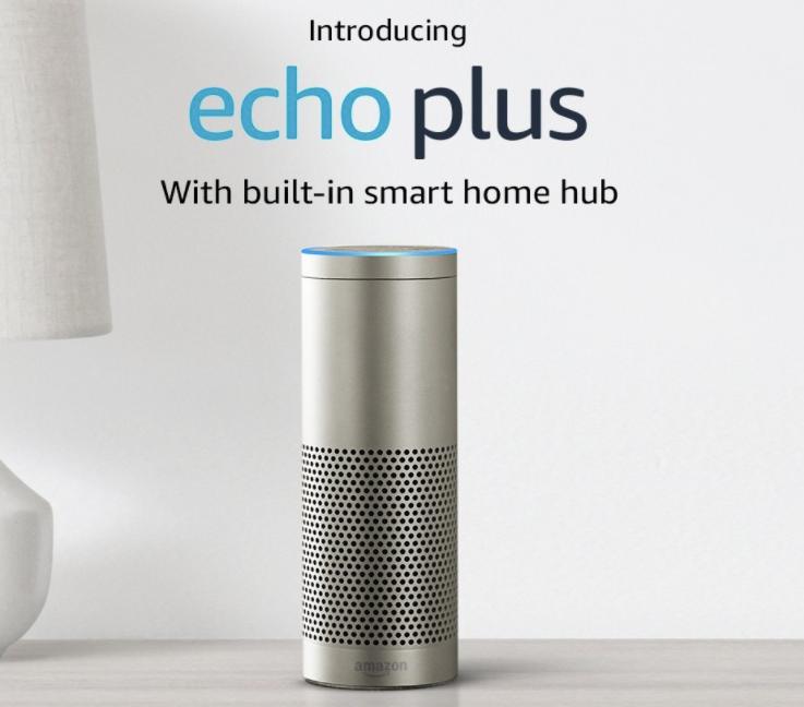 Amazon Echo Plus with Zigbee