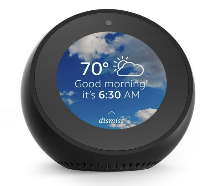 Amazon Alexa Echo Spot