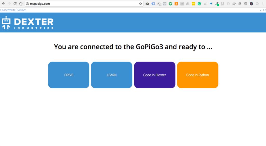 Welcome to the GoPiGo