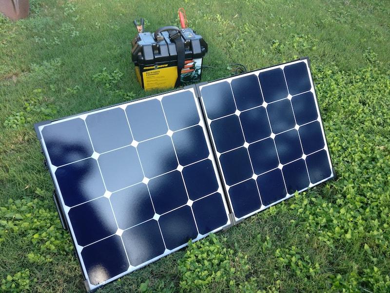 Diy Solar Generator With Renogy 100 Watt Solar Suitcase